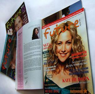 Genel Yayın Yönetmenliği yaptığı Our Future Dergisi